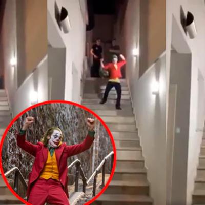 #NoPuedeSer: Joven intenta imitar baile de Joker y termina todo mal (VIDEO)