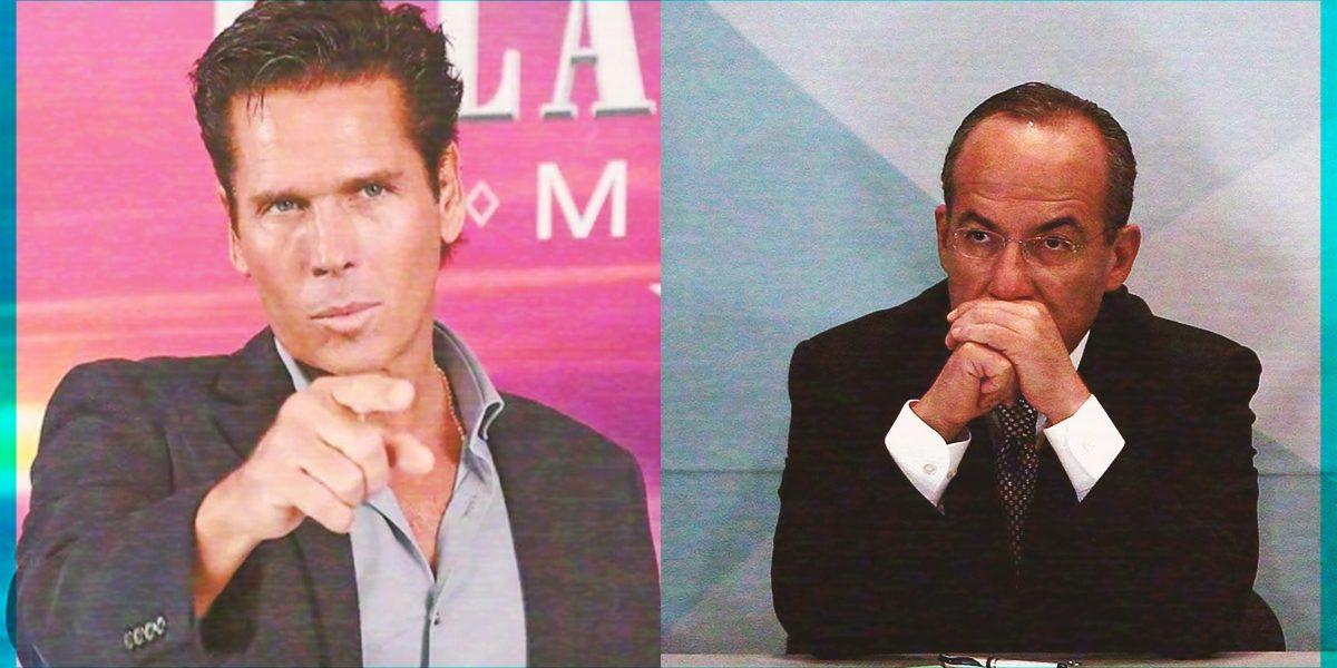 Roberto Palazuelos habló sobre cómo fue capaz de derrotar a Felipe Calderón