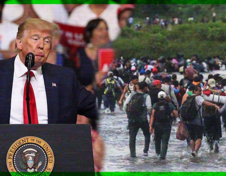 Donald Trump lo vuelve hacer y ahora quiere ¡que apunten a los migrantes!