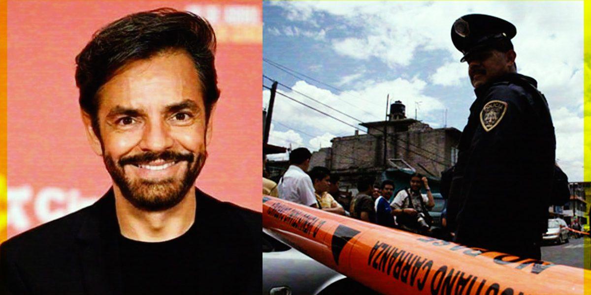 Eugenio Derbez arremete contra el gobierno de México por situación de inseguridad