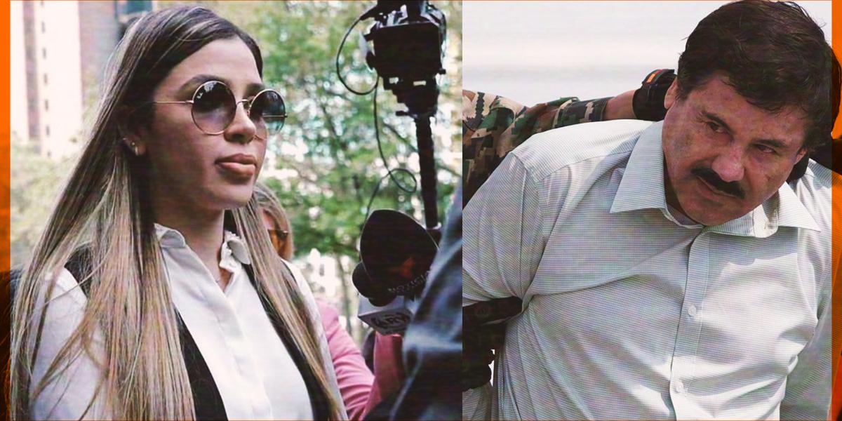 Revelan que Emma Coronel y Joaquín Guzmán no se comunican
