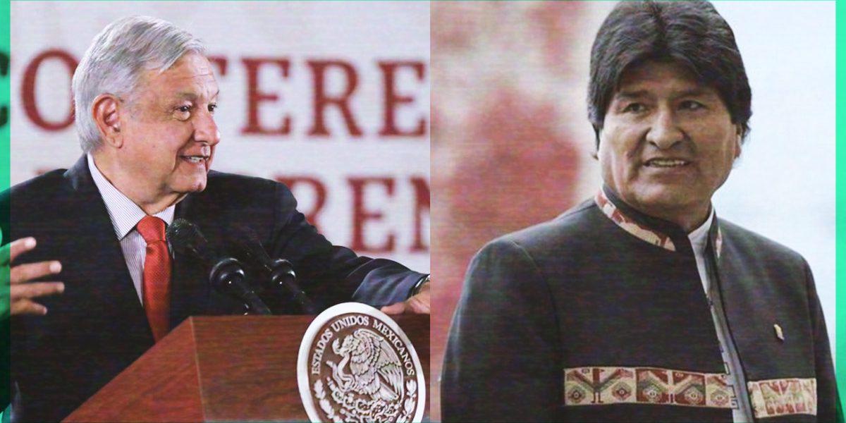 México reitera apoyo a Evo Morales tras golpe de Estado