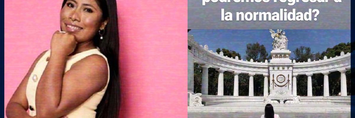 Yalitza Aparicio manda mensaje a favor de las manifestaciones feministas