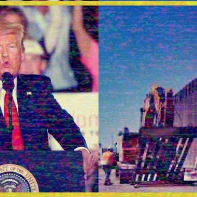 #Increíble: Donald Trump vuelve a la carga con México; dice que ya se está pagando el muro