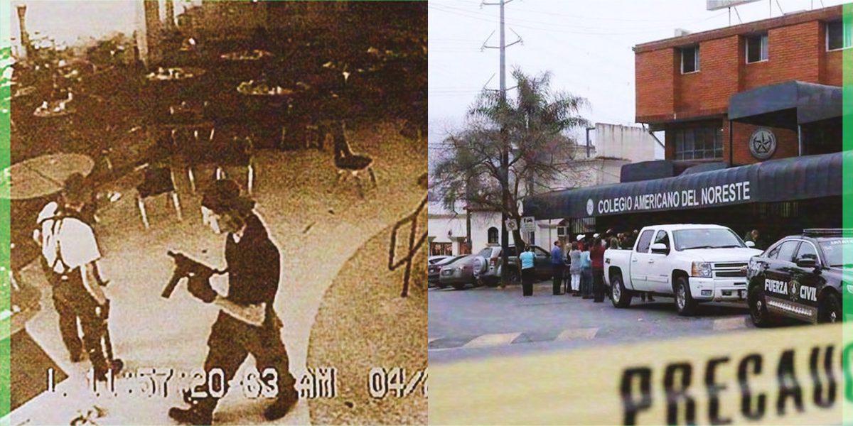 Los tiroteos en escuelas de EUA y México que se han vivido en los últimos años