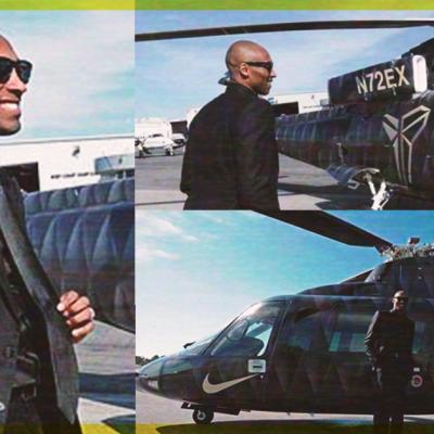 Así era el helicóptero de Kobe Bryant que usaba como transporte
