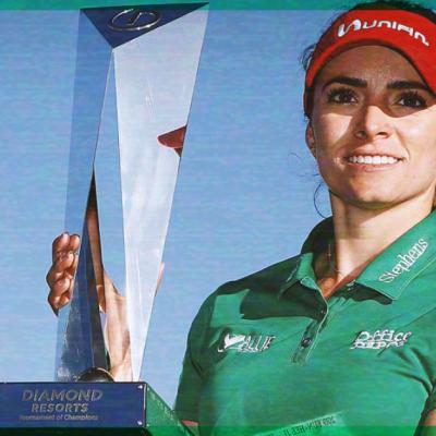 #Orgullo: La mexicana Gaby López gana torneo internacional de Golf