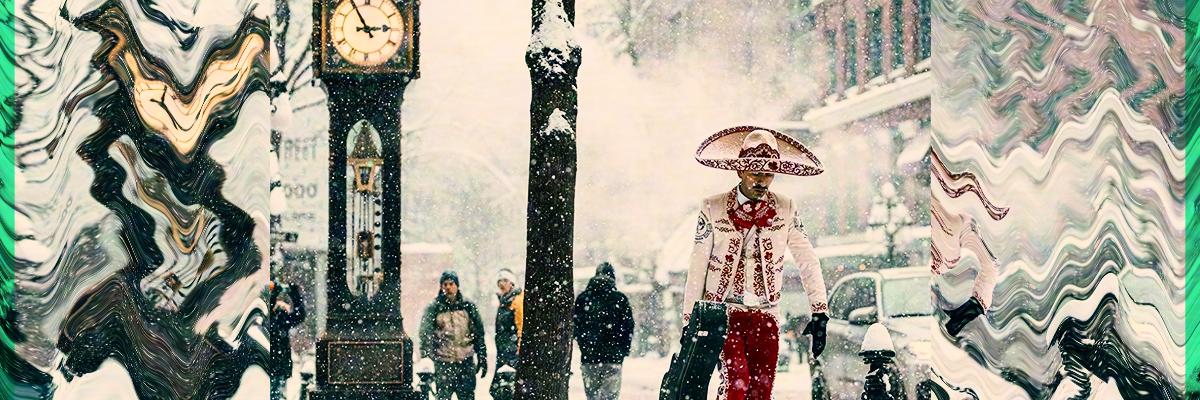 #Orgullo: Esta es la historia del mariachi que camina en la nieve de Canadá