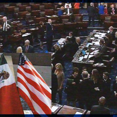#Tómala: Aprueba Senado de EUA el T-MEC; México celebra