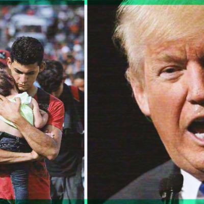 #Terrible: Donald Trump lanza una nueva amenaza contra los mexicanos y migrantes