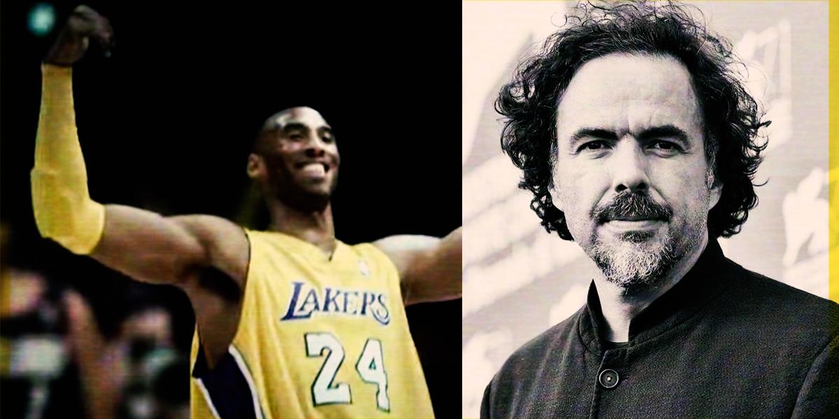 #Leyenda: El día que Kobe Bryant fue dirigido por Alejandro González Iñárritu (VIDEO)