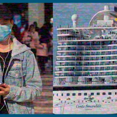 #NoPuedeSer: Crucero varado en Japón eleva su número de enfermos de coronavirus