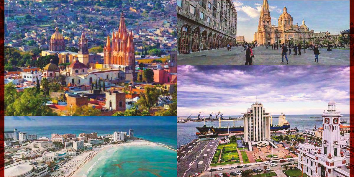 Estas ciudades de México compiten por ser el mejor destino de 2020