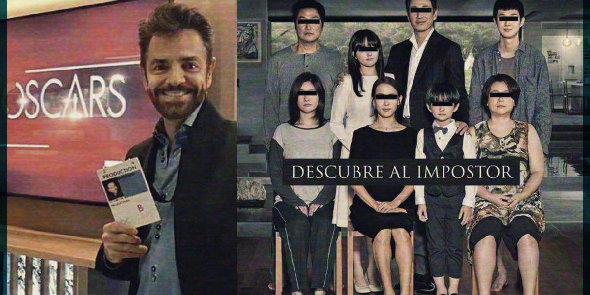 """Eugenio Derbez se subió al tren de los ganadores del Oscar y publica homenaje a """"Parasite"""""""