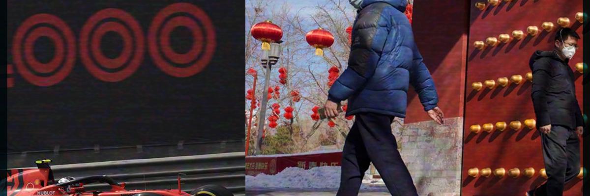 Fórmula 1, la primer gran víctima del Covid-19 en China
