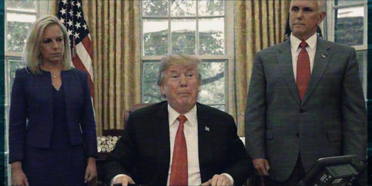 #OtraVez: Trump vuelve a mandar mensaje de que el muro, va