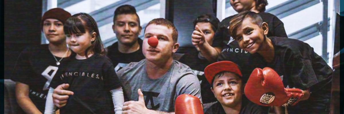 """#Golpazo: """"Canelo"""" Álvarez propina tremendo cañonazo de dinero para los niños con cáncer"""