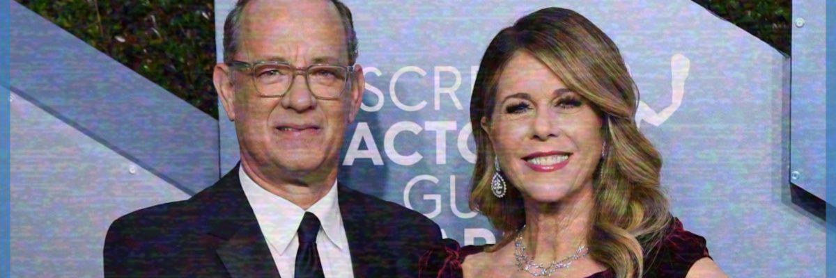 Tom Hanks y Rita Wilson dan positivo en COVID-19
